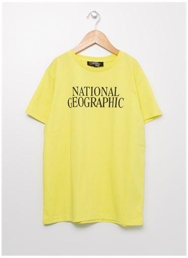 National Geographic National Geographic Sarı Erkek Çocuk T-Shirt Sarı